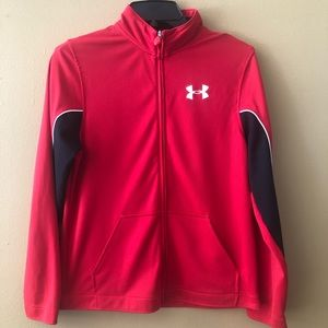 Under Armour Youth Zip Up Jacket.